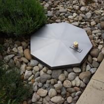 System SA2 - Schachtabdeckung regensicher rund