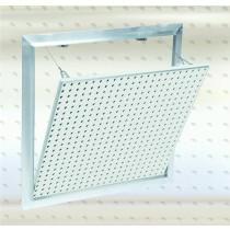 Modèle F2 – Trappe de visite Alu avec plaque perforée