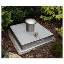 System SA1 - Schachtabdeckung regensicher quadratisch
