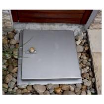System SA3 - Schachtabdeckung regensicher einbruchhemmend quadratisch